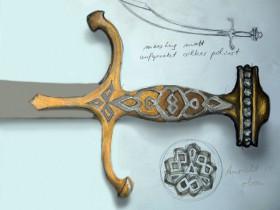 Filmrequisite Schwert