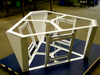 Prototypen Metallbau Monitorhalterung