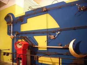 Museumsexponat Kugelbahn Hamburg